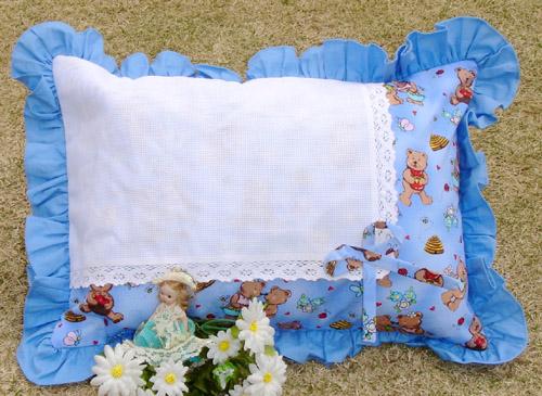 十字绣儿童枕头; 皇冠正品