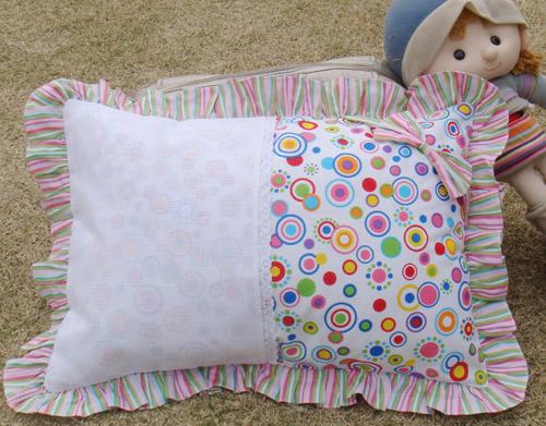 图案|网格十字绣枕头图案